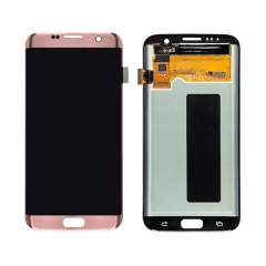 For Samsung Galaxy S7 Edge G935 G935F LCD Screen Display Assembly - Rose Pink