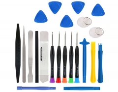 22 in 1 Mobile Phone Repair Tools Kit Scraper Sucker Tweezers Spudger Screwdriver Set