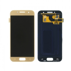 For Samsung Galaxy A3 2017 A320 LCD Screen Touch Digitizer Assembly - Gold
