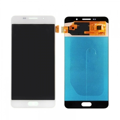For Samsung Galaxy A7 2016 A710 A710F LCD Screen Touch Digitizer Assembly - White