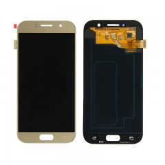 For Samsung Galaxy A5 2017 A520 SM-A520 LCD Screen Touch Digitizer Assembly - Gold