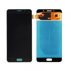 For Samsung Galaxy A7 2016 A710 A710F LCD Screen Touch Digitizer Assembly - Black