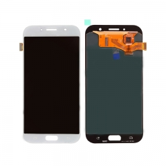 For Samsung Galaxy A7 2017 A720 LCD Display Touch Screen Digitizer Assembly - White