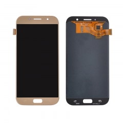 For Samsung Galaxy A7 2017 A720 LCD Display Touch Screen Digitizer Assembly - Gold