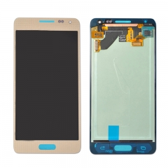 For Samsung Galaxy Alpha G850 LCD Display Touch Screen Digitizer Assembly - Gold