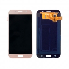 For Samsung Galaxy A7 2017 A720 LCD Display Touch Screen Digitizer Assembly - Pink