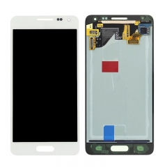 For Samsung Galaxy Alpha G850 LCD Display Touch Screen Digitizer Assembly - White