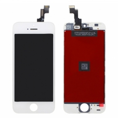 For iPhone 5S LCD Screen With Digitizer and Frame Assembly - White High Quality