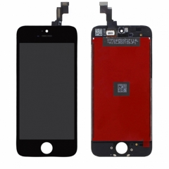 For iPhone 5S iPhone SE LCD Screen With Digitizer and Frame Assembly- Black High Quality