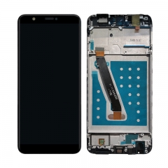 For Huawei P Smart / Enjoy 7S LCD Display Touch Screen Assembly With Frame - Black