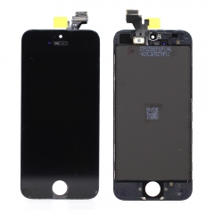 For iPhone 5 LCD Screen With Digitizer and Frame Assembly - Black Original