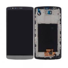 For LG G3 D850 D851 D852 VS985 LS990 LCD Display Touch Screen Digitizer Assembly With Frame - Grey