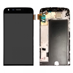 For LG G5 VS987 LS992 US992 RS988 LCD Display Touch Screen Digitizer Assembly With Frame - Black