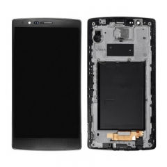 For LG G4 H810 H811 US991 LS991 VS986 LCD Display Touch Screen Digitizer Assembly With Frame - Black