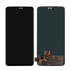 For OnePlus 6 LCD Screen Display Touch Digitizer Assembly - Black
