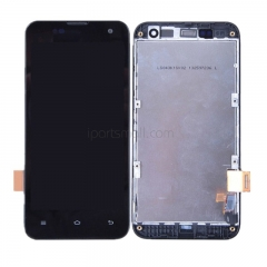 For Xiaomi Mi2 Mi 2S LCD Screen Display Touch Digitizer Assembly With Frame Black