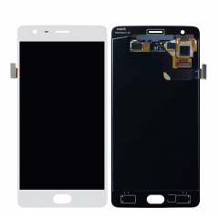 For OnePlus 3 3T LCD Screen Display Touch Digitizer Assembly - White