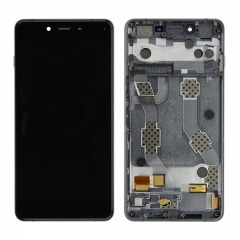 For OnePlus X LCD Screen Display Touch Digitizer Assembly With Frame - Black