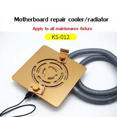 Cellphone Motherboard Repair Fixture Radiator Cooler with Exhaust Fan Dust-proof and Antivirus
