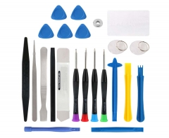 23 in 1 Phone Repair Tools Set Pry Opening Tool Tweezers Spudger Screwdriver Set DIY Tool Kit