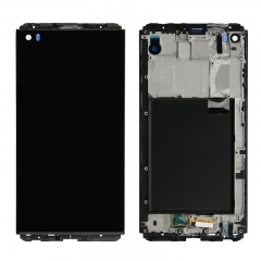 For LG V20 H915 H918 H990 VS995 LCD Screen Display Touch Screen Digitizer Assembly With Frame - Black