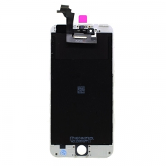 "For iPhone 6 Plus 5.5"" LCD Screen With Digitizer and Frame Assembly - White Original"