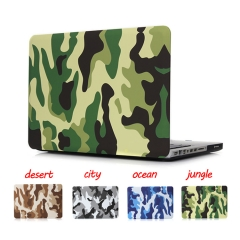For MacBook Air Pro Retina 11 12 13 15 inch Camouflage Case Cover