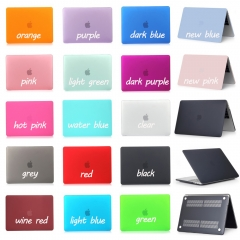 For Macbook Air Pro Retina 11 12 13 15 inch Frosted Matte Hard Cover Case