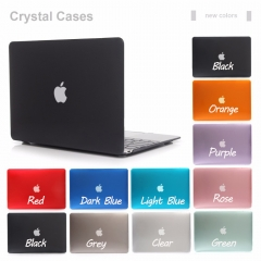 For Macbook Air Pro Retina 11 12 13 15 Glossy Clear Transparent Crystal Case