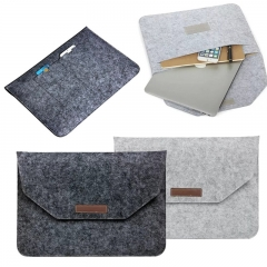 For Apple Macbook Air Pro Retina 11 12 13 15 inch New Soft Sleeve Case Wool Felt Bag