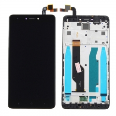 For Xiaomi Redmi Note 4X Note 4 Global Version LCD Display Touch Screen Digitizer Assembly With Frame Black