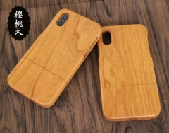 For iPhone Samsung OnePlus etc Cherry Wood Case
