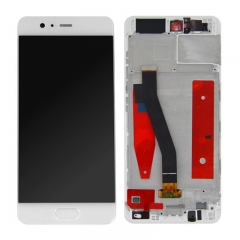 For Huawei P10 VTR-L09 L29 LCD Display Touch Screen With Frame Assembly White