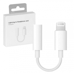 New Original Lightning to 3.5mm Headphone Jack Adapter With Retail Box