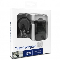 For Samsung Fast Charging Travel Adapter With USB Cable