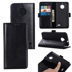 For Motorola Double Folding Mobile Phone Case Leather Case With Car Slot
