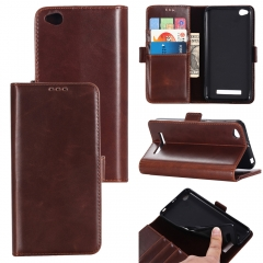 For Xiaomi Redmi Double Folding Mobile Phone Case Leather Case With Car Slot