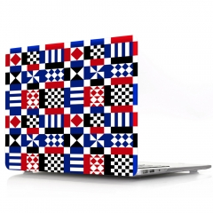 For Macbook Geometry Hard Plastic Cover Case