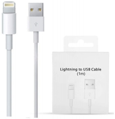 For iPhone iPad iPod New Original Lightning to USB Cable 1m With Box