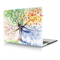 For Macbook New Design Cartoon Flower Laptop Hard Plastic Cover Case