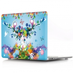 For Macbook Flower Laptop Cover Case
