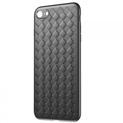 Baseus For iPhone Baseus Luxury Grid Pattern Case Soft Cover