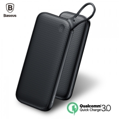 Baseus 20000mAh Power Bank PD Fast Charger + Dual QC3.0 USB Fast Charging