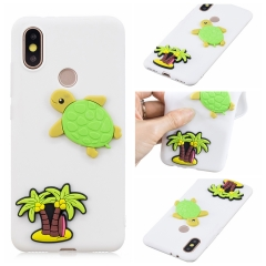 For Xiaomi New Design Cartoon Case Sofe Silicone Rubber Mobile Phone Case
