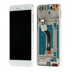 For Huawei P8 / P9 Lite 2017 LCD Screen and Touch Digitizer Assembly With Frame White