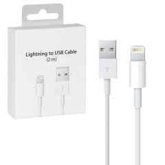 New Original For iPhone iPad iPod 2m 6ft Lightning USB Cable With Box
