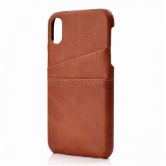 For iPhone Slim PU Leather Case Mobile Phone Cover