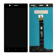 For Nokia 3 LCD Screen Display Touch Digitizer Assembly Black