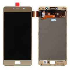 For Lenovo Vibe P2 P2A42 P2C72 LCD Display Touch Screen Digitizer Assembly With Frame Gold