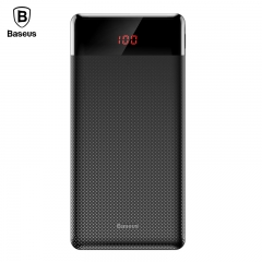 10000mAh Power Bank Dual USB LCD Powerbank Slim Portable External Battery Pack